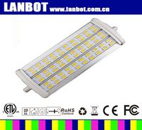 85-265V competitive price led r7s 118mm 30w New smd5730 light source 118mm r7s led 30w and 15w lamp