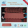 color roof tile price/stone coated steel roof tile/constructional material in Egypt