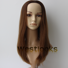 Hot Selling Virgin Human Hair Jewish Wig Topper Kosher Topper