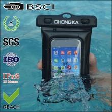 phone waterproof swim bag/ waterproof clear plastic bag/ waterproof swimsuit bag