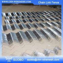 9 Gauge Chain Link Wire Mesh Farm Fence Bonded Fused Chain Link Fence Wire Gauge