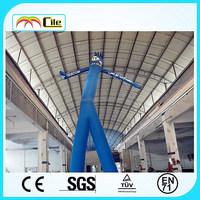 CILE 2014 single leg inflatable air dancer/ tube man for advertising