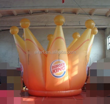 inflatable crown toy