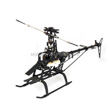 Trex 450 Helicopter Kit Fiber Body Kit for RC Align Trex ( suitable for 3D 6 CH ) 450V2 RC helicopter