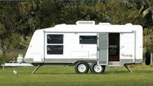 Prefabricated caravan