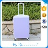 4 wheels trolley ABS+PC luggage travel bags suitcase china wholesale