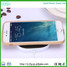 2015 new Unique Design QI Standard Wireless Power Bank/Wireless Charger with 10000mAh Power Bank
