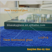 AA 5+5 6+6 8+8 competitive price tempered laminated glass for buildings