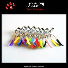 attractive design colorful eyelash curler