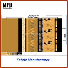 MFU Comfort 100%poly printed coral fleece winter cloth fabric