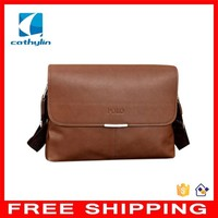 Cathylin New Arrival PU Leather Large Capacity Horizontal Men's Bags High Grade Man Business Briefcase Wholesale Free Shipping