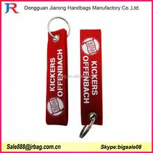 Unusual handmade felt fabric keyrings keychains for promotion