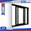 Removable mosquito screen aluminum sliding window