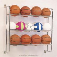 Multi level basketball Soccer Balls Volleyball rack