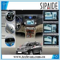 Full Vision 360 Degree Car Camera System For All Brand Car,cmos 360 degree car camera