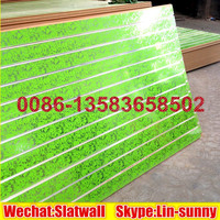 New design PVC slatwall panel,MDF slot board