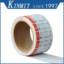 Kinmit Promotion Printing Adhesive Labels For Vacuum Tube Avery Label