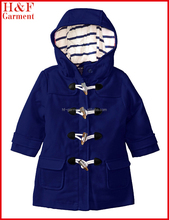 Beautiful Baby Girls Winter Coat with Swing Toggle Button For Cool Weather