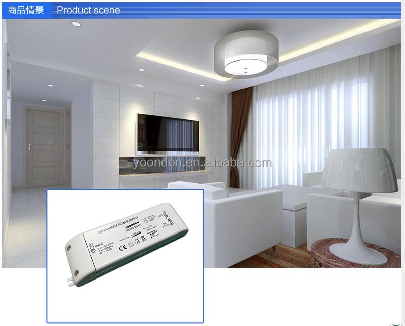 input 50V~240V dimmable led driver/dimming led power supply/led dimmer for led strip 12V /24V 100W