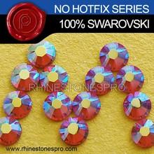 Professional Swarovski Element AB Rose (209AB) 20ss Flat Back Crystal Non HotFix