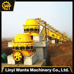 Cone crusher aggregate conveyor naics/crushed brick for sale