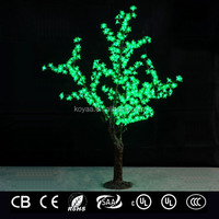 1.5m Artificial LED cherry tree light Christmas decorative tree FZ-384 Blue