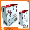 sales latest customed purple packaging gift paper bag and boxes