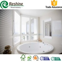 Interior Plastic/PVC Bathroom Shutter
