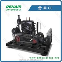 Low price 22kw 30bar high pressure piston air compressor