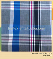 40x40 120x70 100%cotton yarn dyed checks textile fabric for men's shirting fabric
