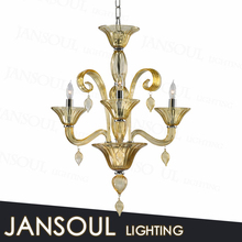 mosaic antique wholesale decoration murano glass indoor pendant light from zhongshan lighting factory