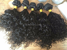 Grade 8a full cuticle hair weave Unprocessed virgin hair piece wavy Brazilian human Hair Weft