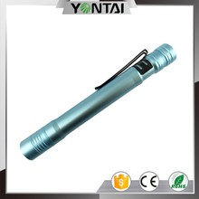 Ningbo yongtai most powerful light blue emergency led torch flashlight