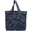 Fashionable style women jeans bag , jeans beach bag, jeans tote bag