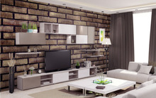New design factory price and high quality interior 3d wallpaper brick texture decor mural