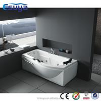 Simple best acrylic small bathroom square bathtub with CE
