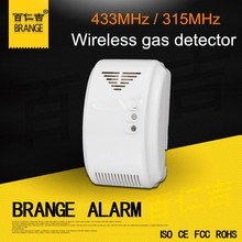 High stability Wireless Personal,kitchen Usage domestic lpg gas detector