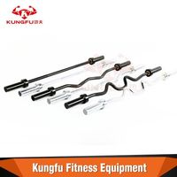 Various kinds steel curl bar with different material