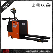 3T foot operated electric pallet truck witharmrest