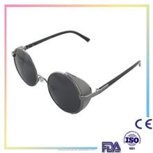 Round Glasses Cyber Goggles Steampunk Sunglasses Vintage Retro