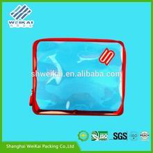 soft loop plastic garment bag, transparent EVA clothes zip lock bag, PVC clothes box SHWK1864
