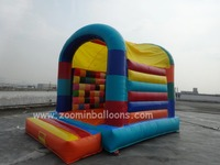 popular game kids' favorite inflatable bouncer castle with high quality Z1017