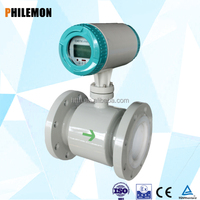 Hot water high temperature Intelligent electromagnetic flow meter converter