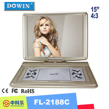 Worth Buying Competitive Price High Quality Portable DVD Player EVD Player with 3D Viewing Effect TV Function