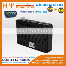 android atsc dvb-t2 STB android box vigica c90s Vigica C90T android dvb-t2 smart tv box vigica c90
