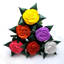 High quality wholesale colored flowers for wedding decoration