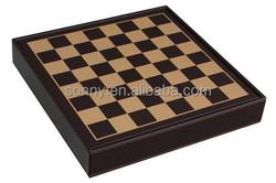 High-End Ebony Wooden Chess Board