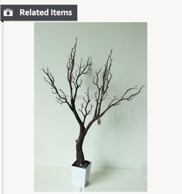 Seco rama de un rbol artificial rbol decorativo para la - Ramas de arbol para decoracion ...