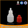 2015 5ml plastic e-liquid bottle with childproof cap in stock