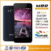GFF Tech Screen M80 4.5 inch 3G Quad Core OEM generic cell phone